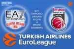 23 March 2017 Euroleague Tips – EA7 Emporio Armani Milan v Brose Bamberg