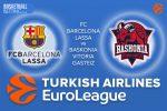 27 January 2017 Euroleague Tips – FC Barcelona Lassa v Baskonia Vitoria Gasteiz