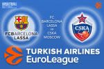 3 March 2017 Euroleague – FC Barcelona Lassa v CSKA Moscow