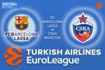 3 March 2017 Euroleague – FC Barcelona Lassa v CSKA Moscow
