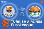 9 March 2017 Euroleague – FC Barcelona Lassa v Unics Kazan