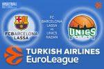 9 March 2017 Euroleague – FC Barcelona Lassa v Unics Kazan