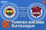 9 March 2017 Euroleague – Fenerbahce Istanbul v Baskonia Vitoria Gasteiz