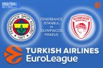 21st May 2017 Euroleague Championship Match – Fenerbahce Istanbul v Olympiacos Piraeus