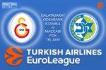 24 January 2017 Euroleague Tips – Galatasaray Odeabank Istanbul v Maccabi FOX Tel Aviv