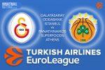 3 February 2017 Euroleague Tips – Galatasaray Odeabank v Panathinaikos Superfoods Athens