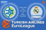 20 October 2016 Euroleague Predictions – Maccabi Fox Tel Aviv v Real Madrid