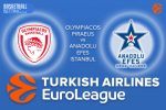 20 October 2016 Euroleague Predictions – Olympiacos Piraeus v Anadolu Efes Istanbul