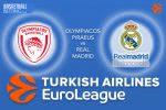 24 March 2017 Euroleague Tips – Olympiacos Piraeus v Real Madrid