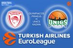 9 December 2016 Euroleague Tips – Olympiacos Piraeus v Unics Kazan