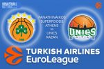 24 February 2017 Euroleague – Panathinaikos Superfoods Athens v Unics Kazan