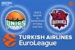 15 December 2016 Euroleague Tips – Unics Kazan v Baskonia Vitoria Gasteiz