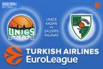 17 March 2017 Euroleague Tips – Unics Kazan v Zalgiris Kaunas