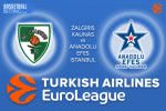 21 March 2017 Euroleague Tips – Zalgiris Kaunas v Anadolu Efes Istanbul
