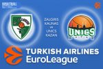 22 December 2016 Euroleague Tips – Zalgiris Kaunas v Unics Kazan