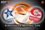 18 March Euroleague Top 16 Group E – Anadolu Efes Istanbul v Cedevita Zagreb
