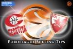 8 April Euroleague Top 16 Group E – Cedevita Zagreb v Crvena Zvezda Telekom Belgrade