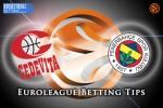 25 March Euroleague Top 16 Group E – Cedevita Zagreb v Fenerbahce Istanbul