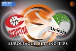 10 March Euroleague Top 16 Group E – Cedevita Zagreb v Unicaja Malaga