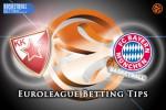 18 December Euroleague Regular Season Group A – Crvena Zvezda Telekom Belgrade v FC Bayern Munich