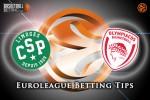 10 December Euroleague Regular Season Group B – Limoges CSP v Olympiacos Piraeus