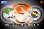 8 April Euroleague Top 16 Group E – Unicaja Malaga v Fenerbahce Istanbul