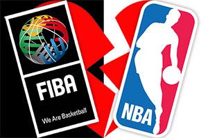 FIBA and NBA Break Up
