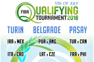 FIBA Qualifying Games - 5th of July 2016