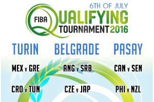 FIBA Qualifying Games - 6th of July 2016