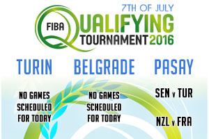 FIBA Qualifying Games - 7th of July 2016