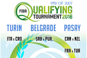 FIBA Qualifying Games - 9th of July 2016