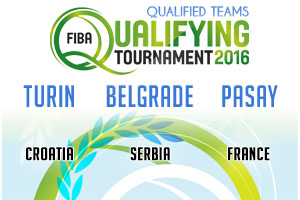 FIBA Qualifying Games - Winners