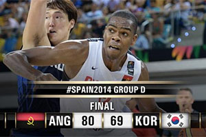 FIBA World Cup 2014 - Angola vs South Korea