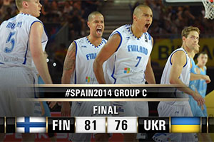 FIBA World Cup 2014 - Finland vs Ukraine