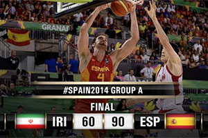 FIBA World Cup 2014 - Iran vs Spain