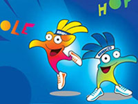 FIBA World Cup 2014 Mascots Olé and Hop