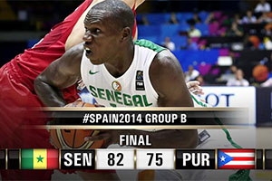 FIBA World Cup 2014 - Senegal vs Puerto Rico
