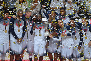 Team USA Wins FIBA World Cup Naismith Trophy