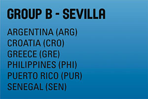 FIBA World Cup Group B - Sevilla