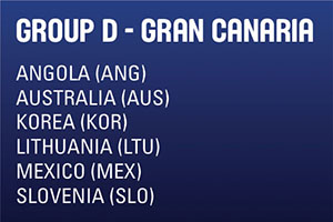 FIBA World Cup Group D - Gran Canaria