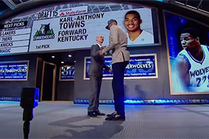 First Pick NBA Draft 2015 - Karl-Anthony Towns
