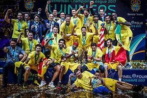 Iberostar Tenerife FIBA Basketball Champions League Winners
