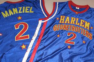 Johnny Manziel Harlem Globetrotters Jersey