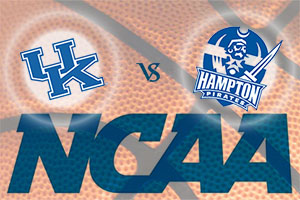 March Madness 2015 - Kentucky Wildcats v Hampton Pirates
