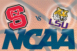 March Madness 2015 - NC State Wolfpack v LSU Tigers