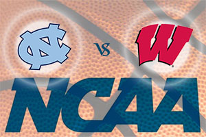 March Madness 2015 - University of North Carolina Tarheels v Wisconsin Badgers
