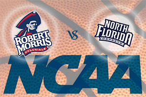 March Madness 2015 - Robbert Morris Colonials v North Florida Ospreys