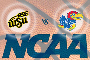 March Madness 2015 - Wichita State Shockers v Kansas Jayhawks