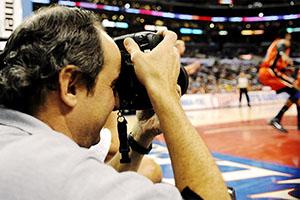 NBA Baseline Photographer