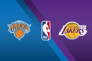 New York Knicks vs. L.A. Lakers